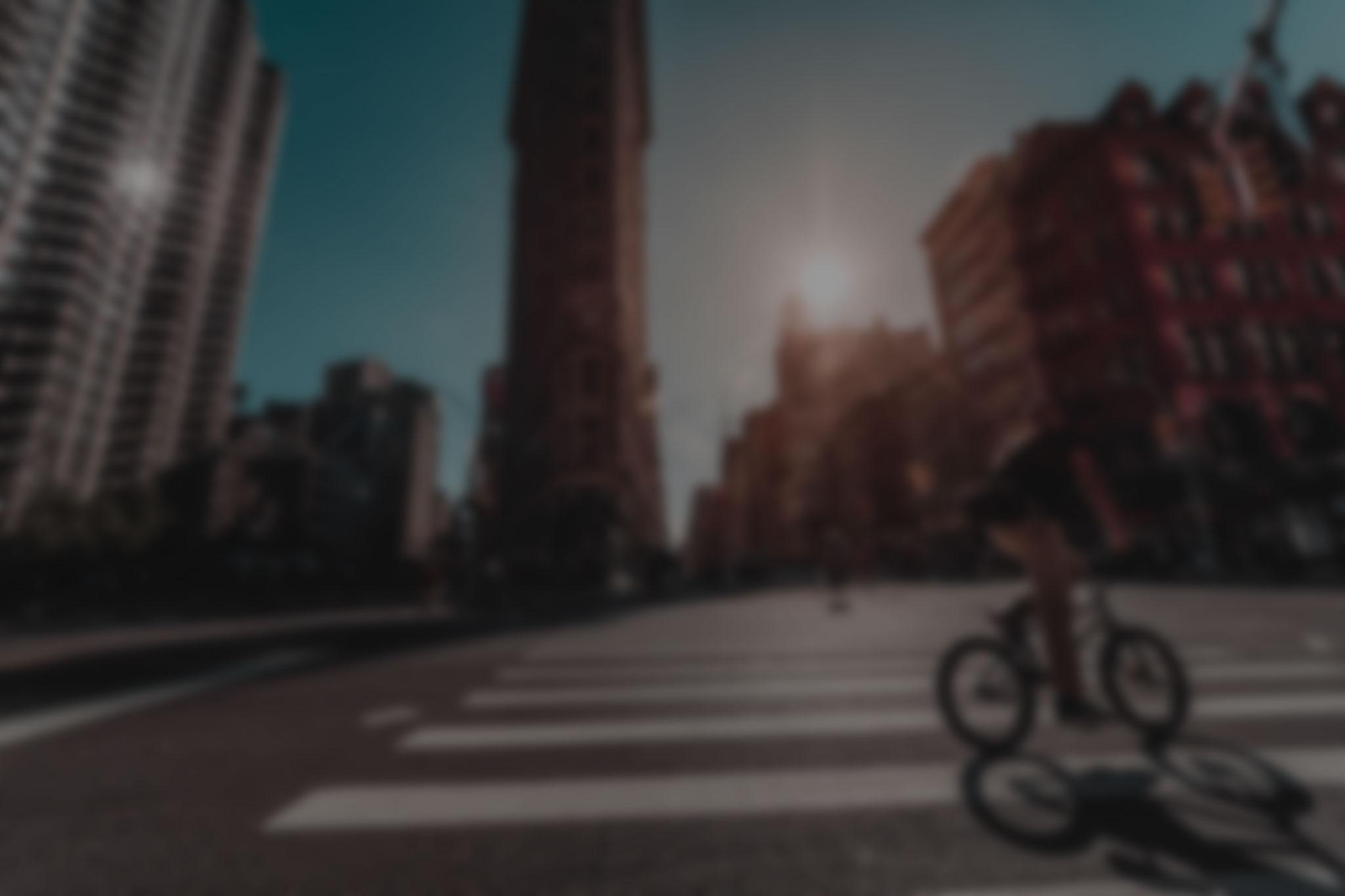 Flatiron Building, New York by Kingston Road Creative